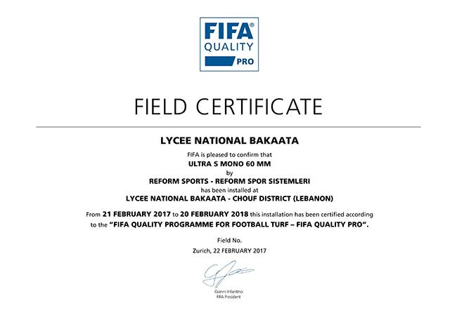 34 fifa2 lubnan lycee national bakaata stadi 2017