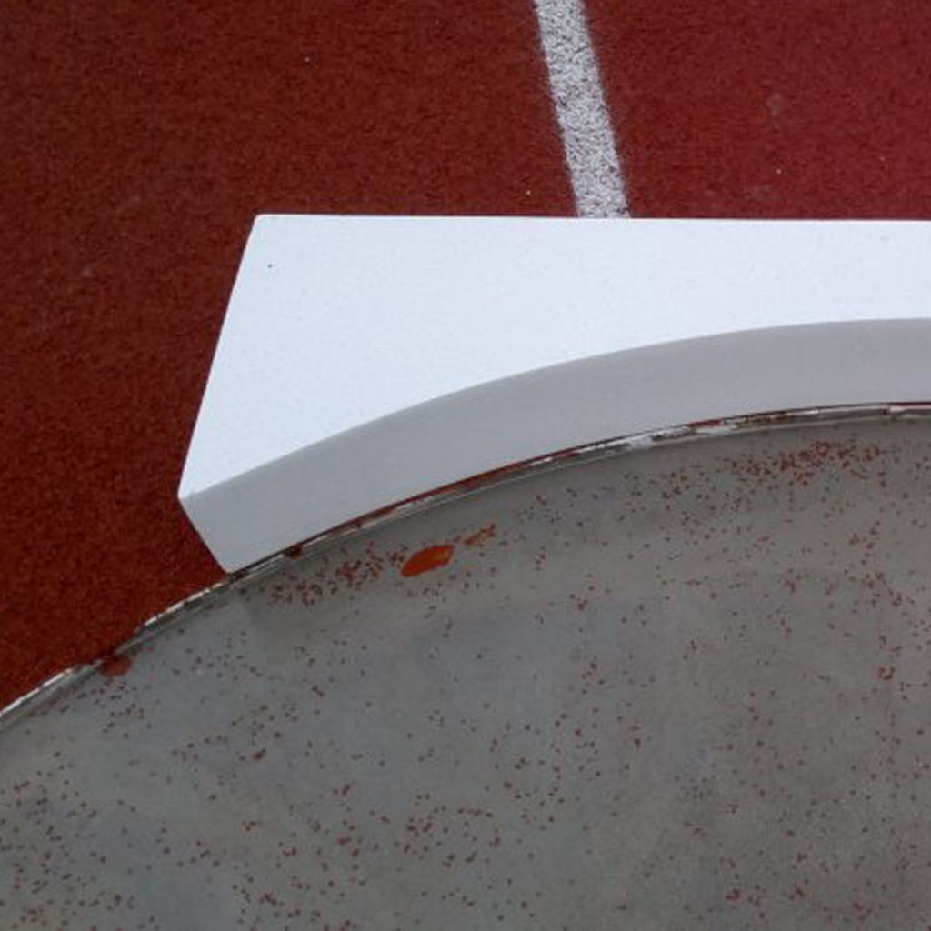 Shot Put Stop Board